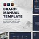 Logo Brand Manual Template - GraphicRiver Item for Sale