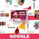 Colorful A4 Modern Minimal Googleslide - GraphicRiver Item for Sale
