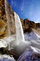 Waterfall Seljalandsfoss in Iceland - PhotoDune Item for Sale