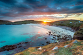 Sunset over the beach at Hushinish on the Isle of Harris - PhotoDune Item for Sale