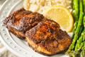 Homemade Blackened Mahimahi White Fish - PhotoDune Item for Sale
