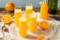 Boozy Champagne Mimosa with Orange Juice - PhotoDune Item for Sale