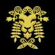 Floral Lion Logo - GraphicRiver Item for Sale