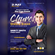 Church Online Event Flyer Templates - GraphicRiver Item for Sale