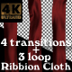 Cloth Ribbons Pack - VideoHive Item for Sale
