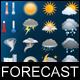 Forecast Vector Icons - GraphicRiver Item for Sale