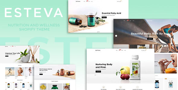 Esteva - Nutrition and Wellness Shopify Theme