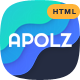 Apolz - App Landing Page HTML Template - ThemeForest Item for Sale