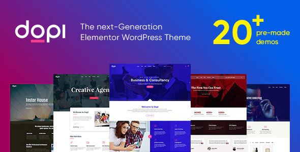 Dopi - Elementor MultiPurpose WordPress Theme