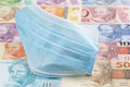 Protective mask on a Brazilian money - PhotoDune Item for Sale