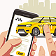 Taxi Order Smartphone Application - GraphicRiver Item for Sale