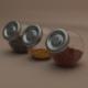 Glass jars raitan ikea - 3DOcean Item for Sale