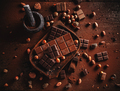 Cocoa powder, beans and chocolate bar pieces - PhotoDune Item for Sale