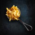 French fries in fancy metal basket - PhotoDune Item for Sale