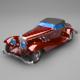 classic mercedes - 3DOcean Item for Sale
