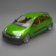 Civic car - 3DOcean Item for Sale