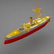 Battle ship - 3DOcean Item for Sale
