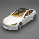tesla car - 3DOcean Item for Sale