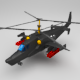 Helicopter KA 50 black shark - 3DOcean Item for Sale