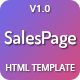 SalesPage - Landing Page Template for Creative Agencies, Apps, Portfolio Websites & Small Businesses - ThemeForest Item for Sale