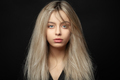 Beautiful young blonde girl with tousled hair - PhotoDune Item for Sale