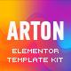 Arton - Beauty & Spa Salon Template Kit - ThemeForest Item for Sale