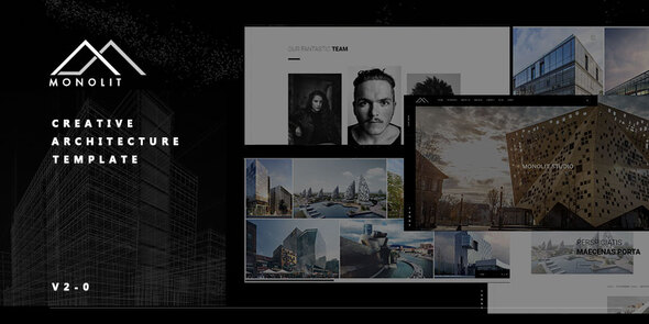 Monolit   - Responsive  Architecture Template