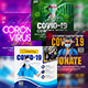 Corona Virus Live Event Flyer Template - GraphicRiver Item for Sale