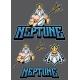 Neptune Poseidon Mascot - GraphicRiver Item for Sale