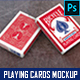 Playing Cards Mockup vol. 1 - GraphicRiver Item for Sale
