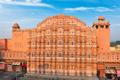 Hawa Mahal Palace of Windsin the morning. Jaipur, Rajasthan, India - PhotoDune Item for Sale
