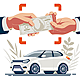 Selling Car Hands Transferring Money - GraphicRiver Item for Sale