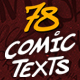 Comic Texts FX Pack - VideoHive Item for Sale