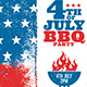 4th of July BBQ Party - GraphicRiver Item for Sale