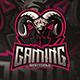 Goat Esport Gaming Logo - GraphicRiver Item for Sale