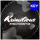 Krimilious Delicious Dessert Keynote Template - GraphicRiver Item for Sale