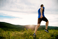 athlete runner run on mountain trail - PhotoDune Item for Sale
