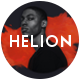 Helion | Personal Creative Portfolio WordPress Theme + Store - ThemeForest Item for Sale
