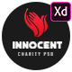 Innocent - Nonprofits Charity XD Template - ThemeForest Item for Sale