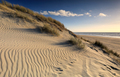 textured sand dune and blue sky by sea - PhotoDune Item for Sale