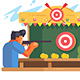 Man in Shooting Gallery - GraphicRiver Item for Sale