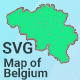 Map of Belgium - CodeCanyon Item for Sale
