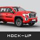 GMC Sierra Pickup Mockup - GraphicRiver Item for Sale