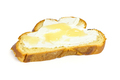 Slice of challah bread with cottage cheese and honey - PhotoDune Item for Sale