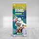 Solar Energy Roll Up Banner - GraphicRiver Item for Sale