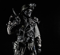 Post apocalyptic survivor with handmade pistol - PhotoDune Item for Sale