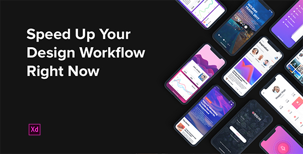 Origin Mobile UI Kit for Adobe XD