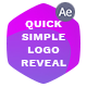 Quick Simple Logo Reveal - VideoHive Item for Sale