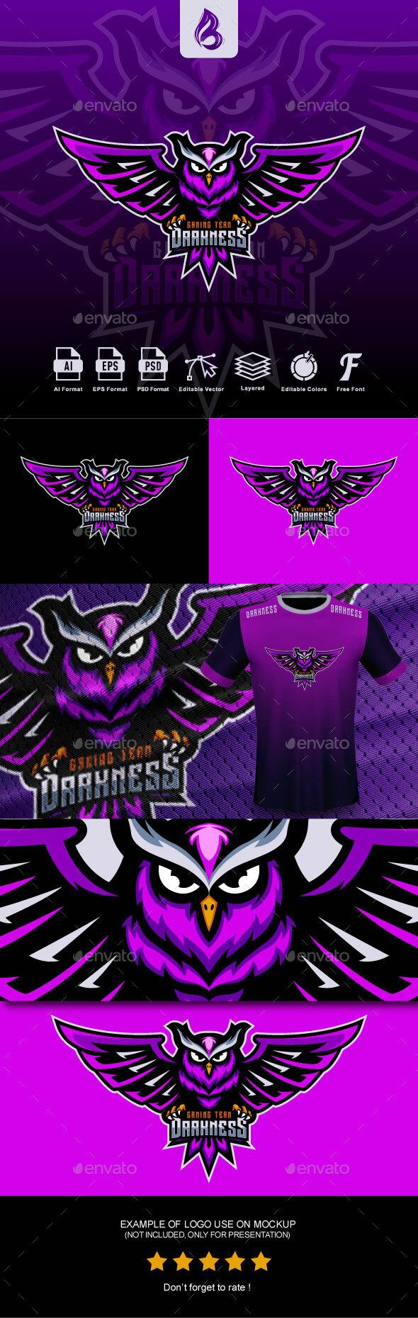 Owl Esport Logo Design