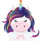 Cartoon Little Unicorn - GraphicRiver Item for Sale